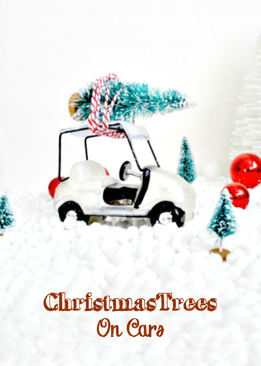Christmas Trees on cars, lots of great ideas!