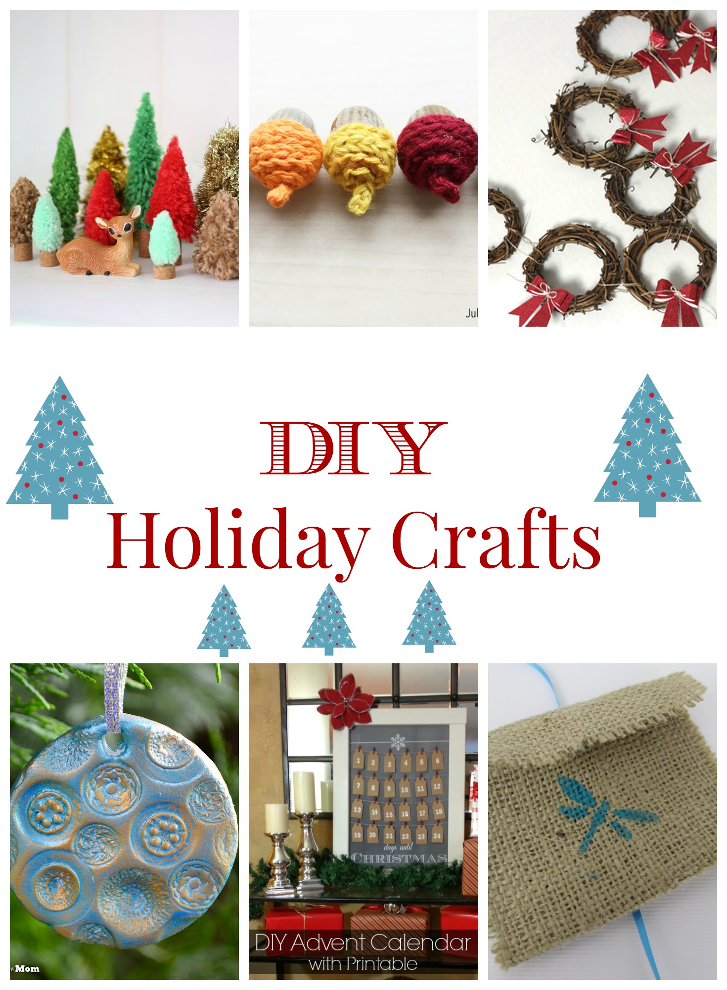 diy holiday crafts On christmas crafts you can make at home