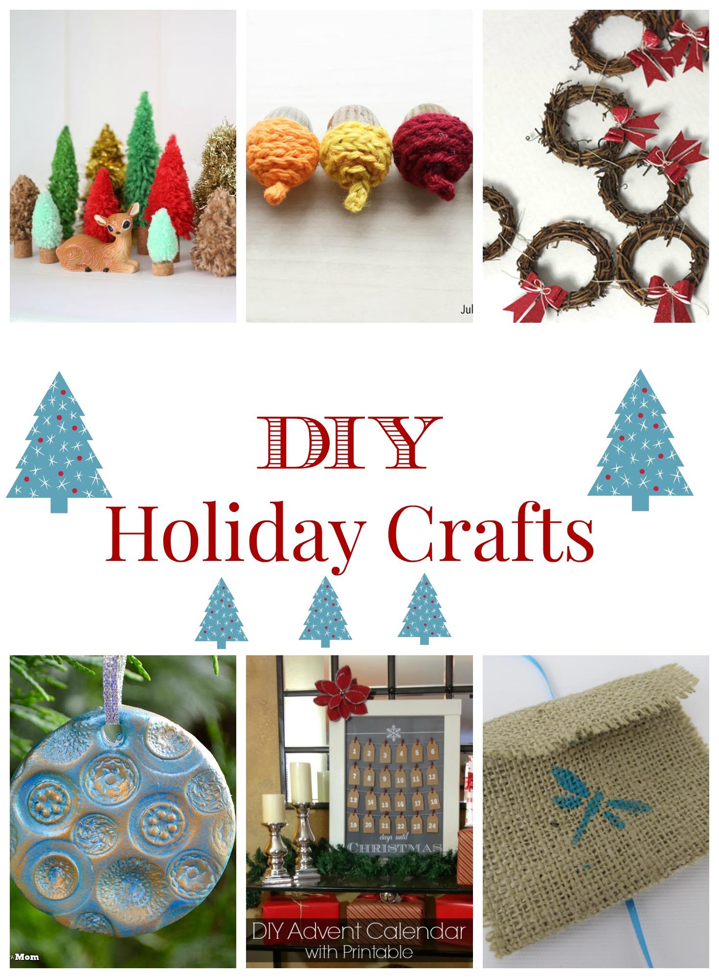 DIY Holiday Crafts You Can Make At Home