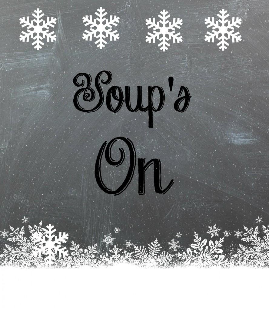 Soups on free printable