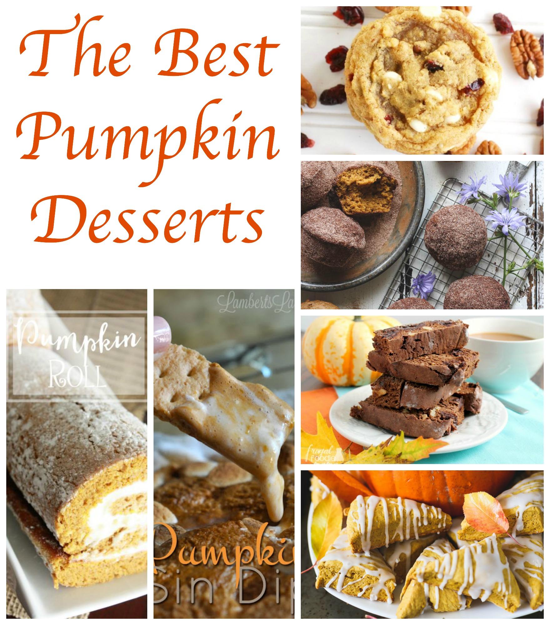 Great Pumpkin Dessert Recipe: The Best Pumpkin Desserts