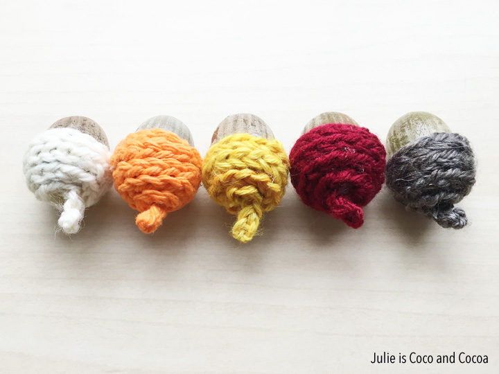 acorn-cap-crochet-chain-stitch