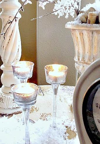 transform those dollar store tea lights and make your own DIY Mercury Glass