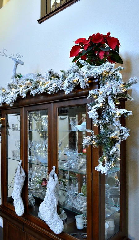 Beautiful lighted garland