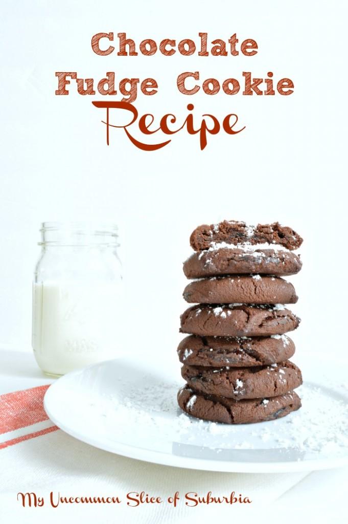 Chocolate Fudge Cookie Recipe
