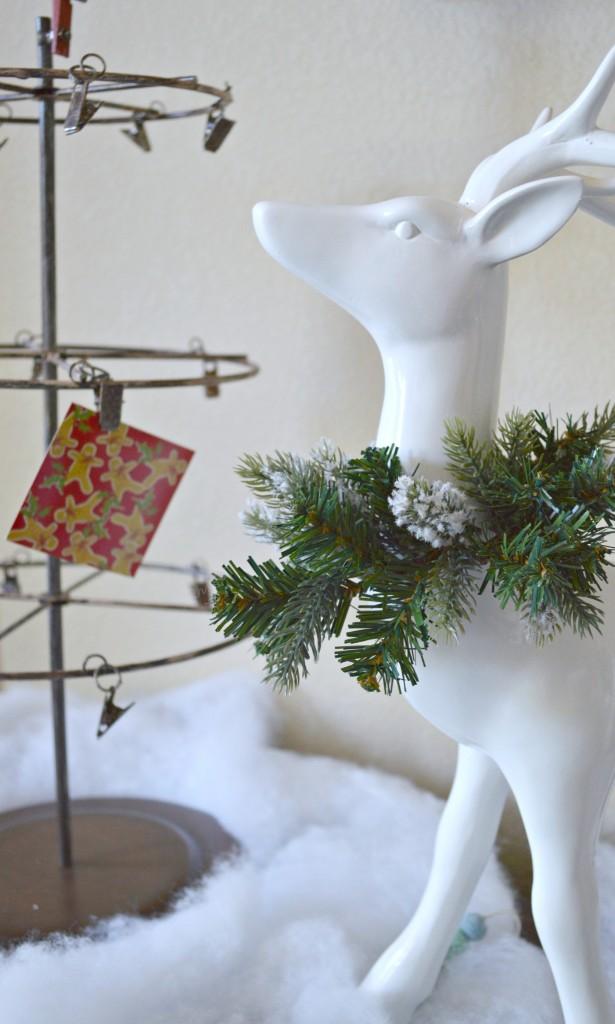 Christmas Reindeer Vignette
