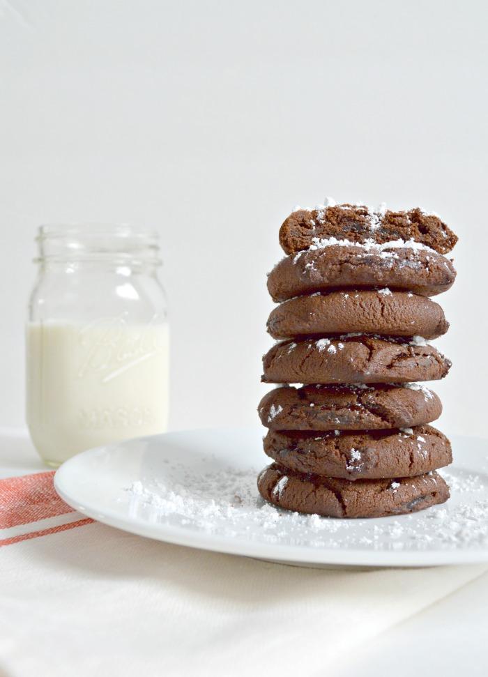 Easy fudge cookies