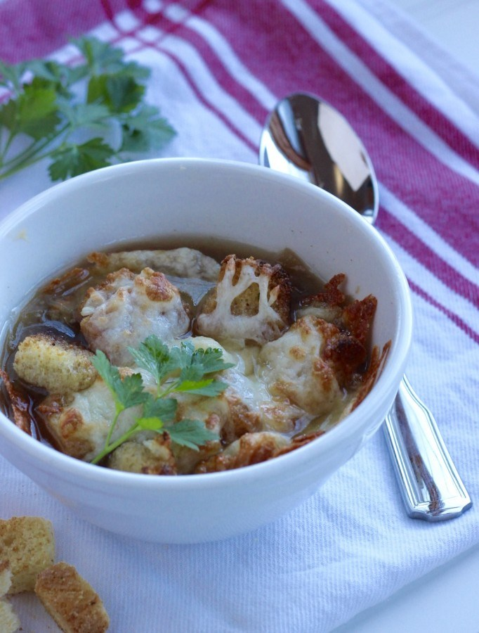 The best french onion soup!