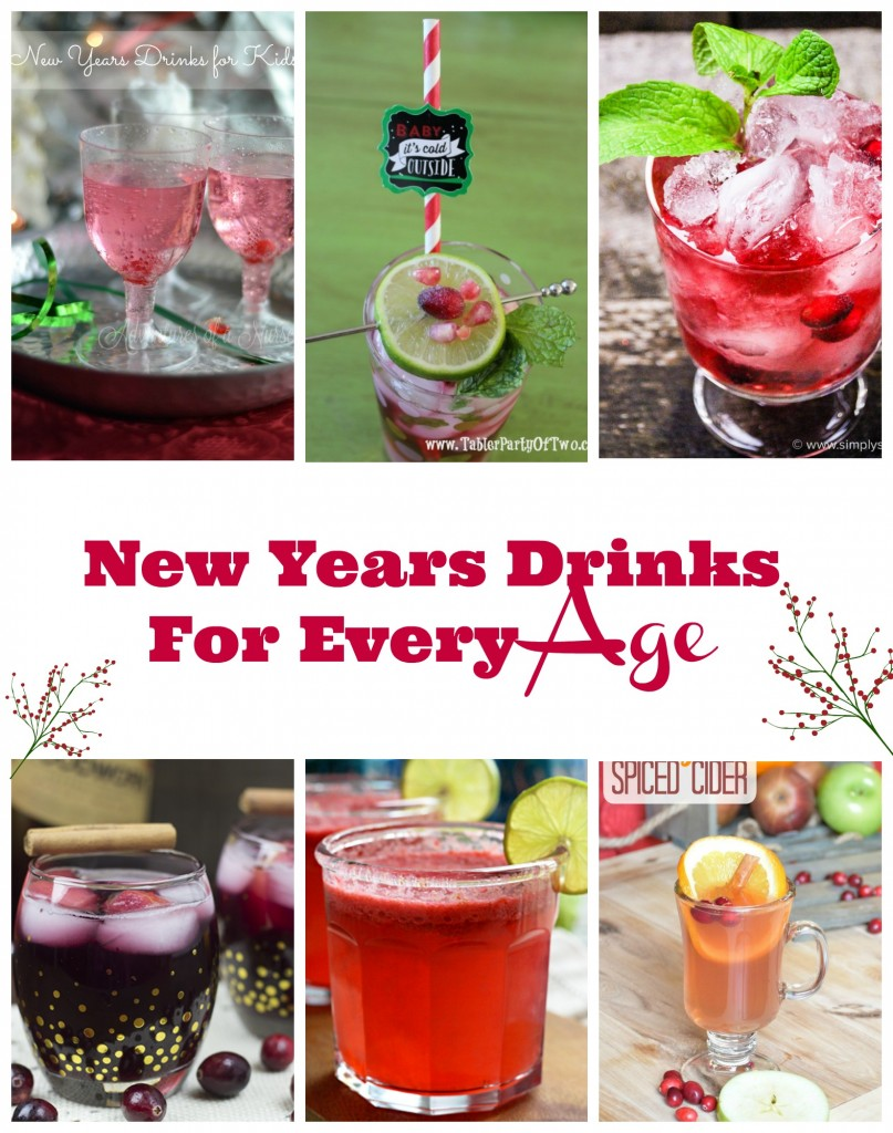 new years drinks for all ages