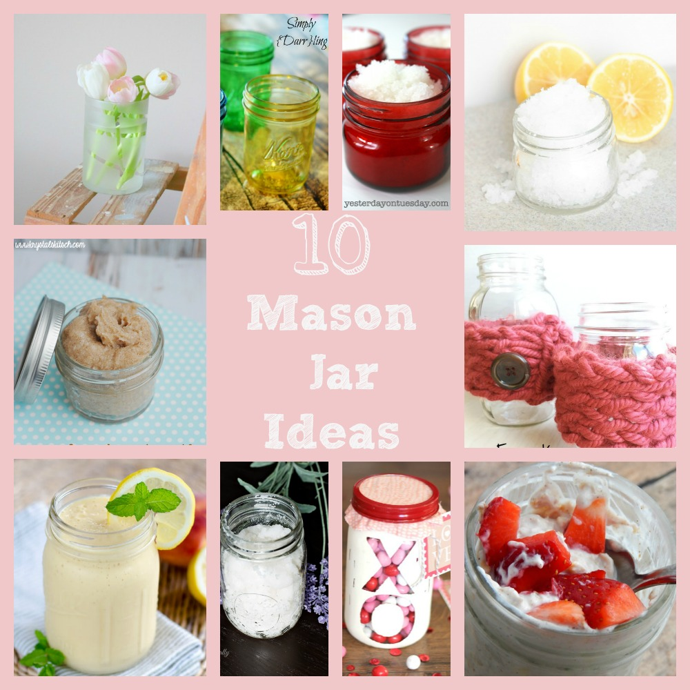 10 Mason Jar Ideas you Can easily create at home!