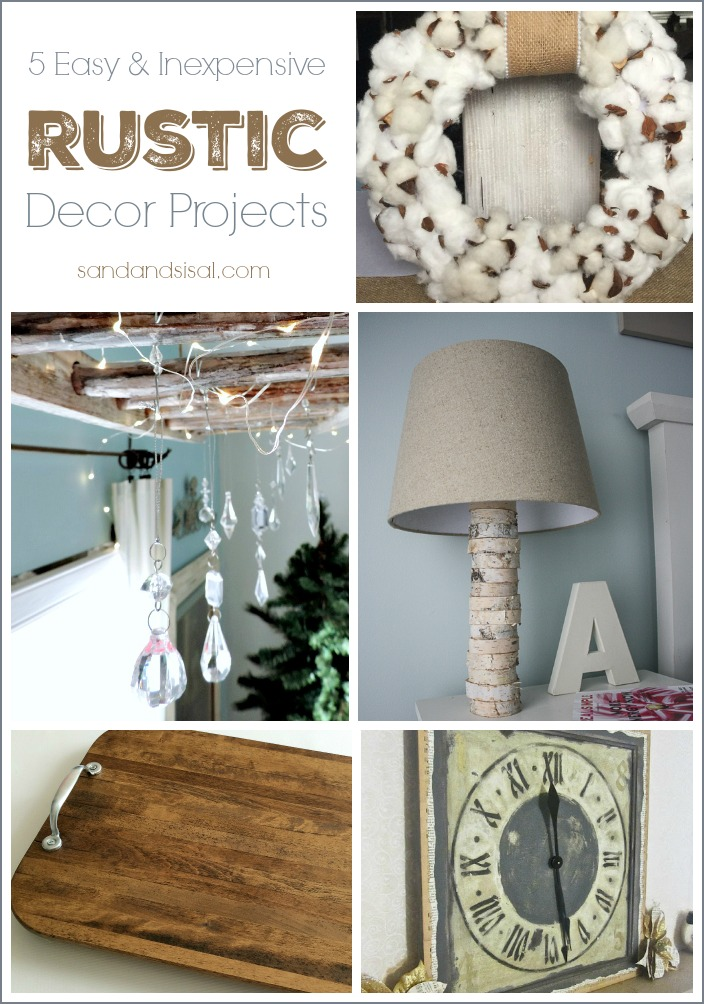 5-Easy-and-Inexpensive-Rustic-Decor-Projects