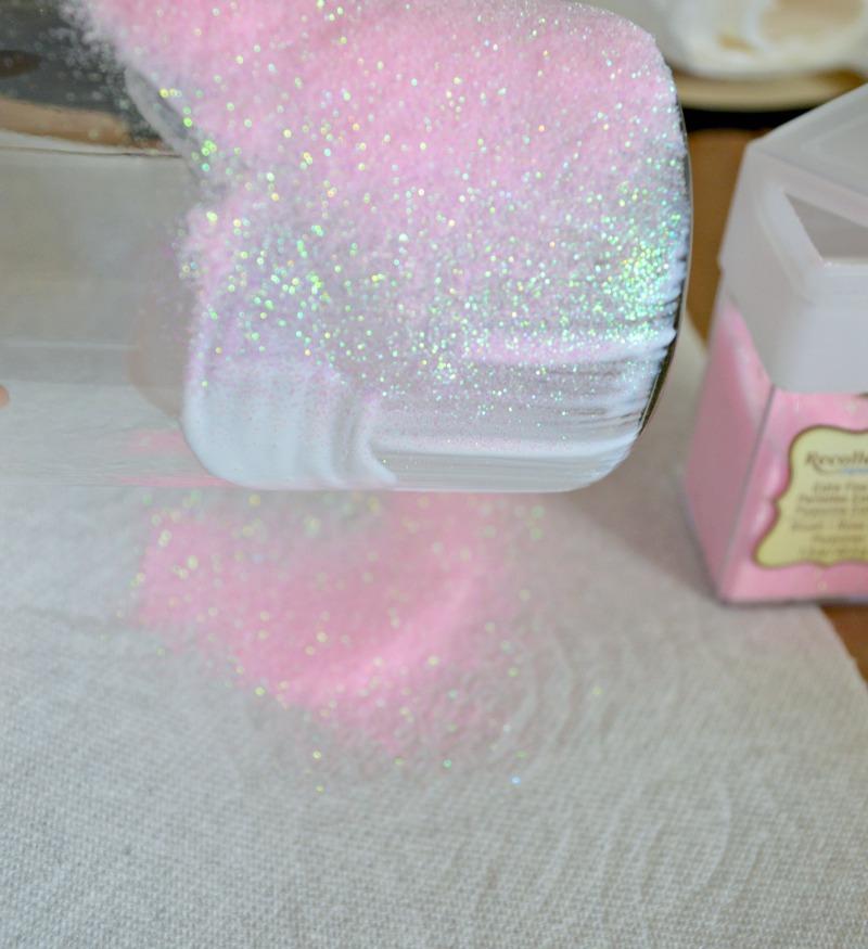 Diy Glitter Vases My Uncommon Slice Of Suburbia
