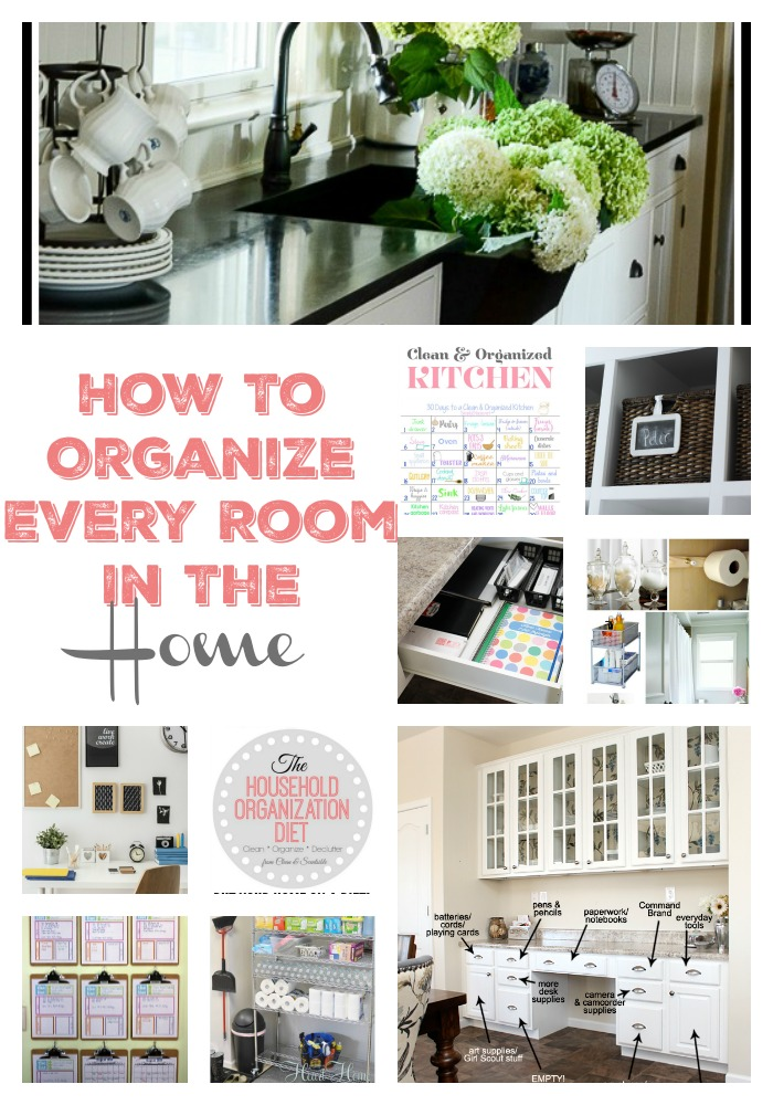 How to organize every room in the home