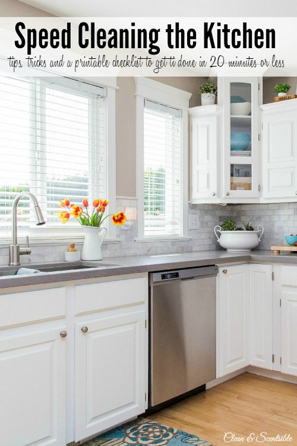 Speed-Cleaning-the-Kitchen