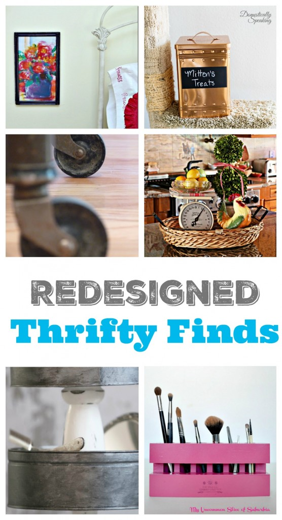 Thrift Store Finds that were redesigned and made to look beautiful!