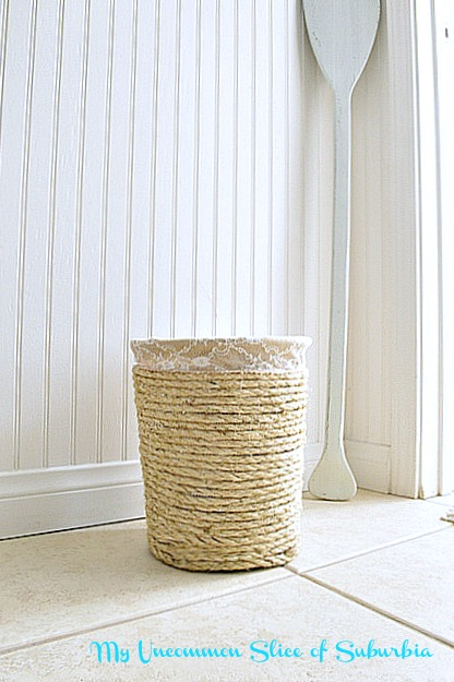 Simple DIY Knock off trash can