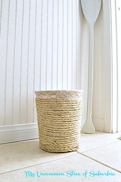 Simple DIY Knock off trash can