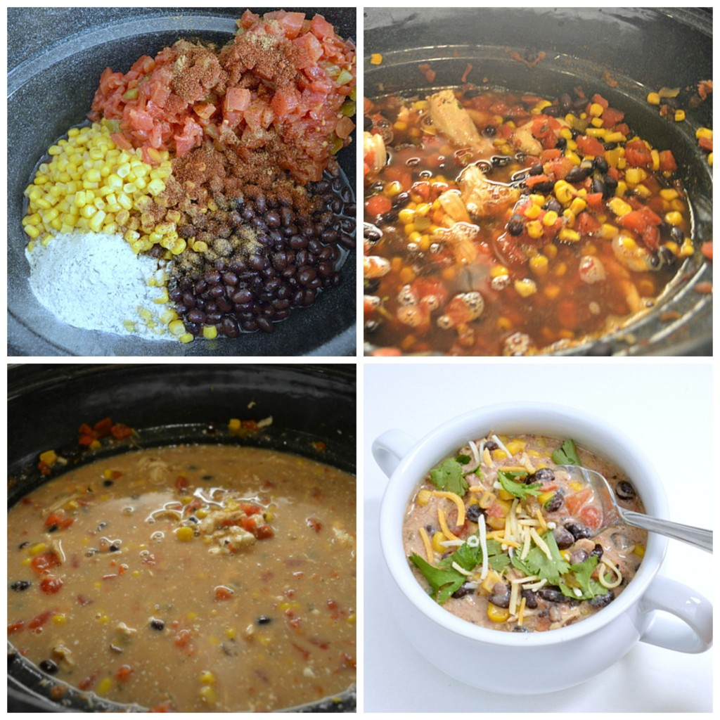 Step by step recipe on how to make chicken chili