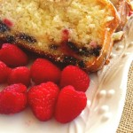 Raspberry & Chocolate Chip Loaf Cake