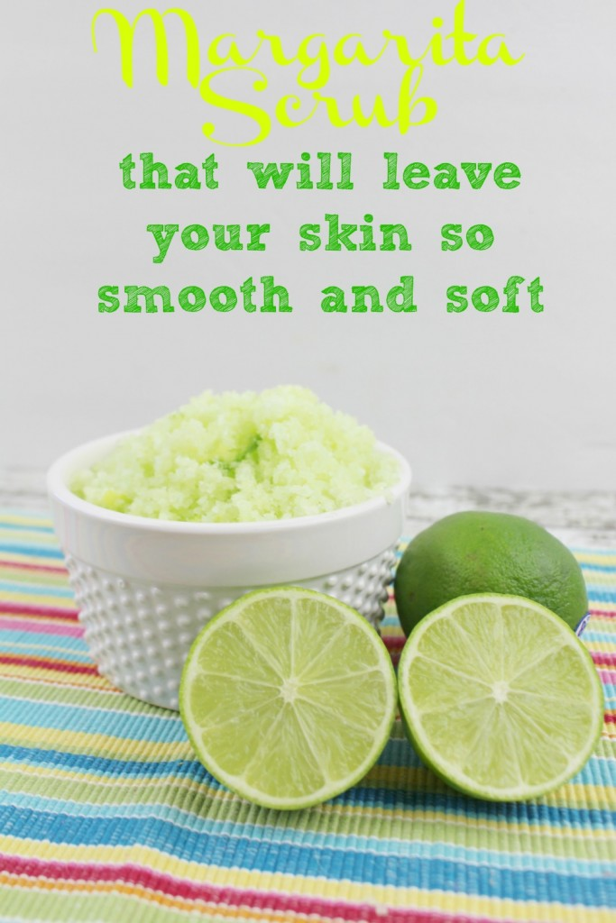 Margarita Scrub recipe that will leave your skin so smooth and soft