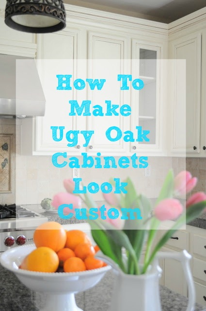 So many great tips on making your kitchen look custom