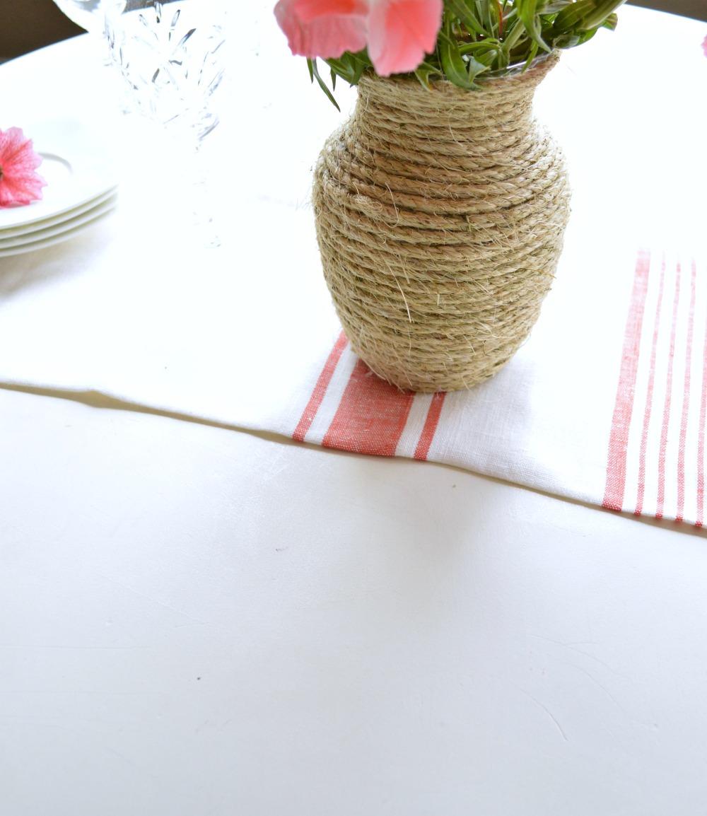 DIY Twine Vase