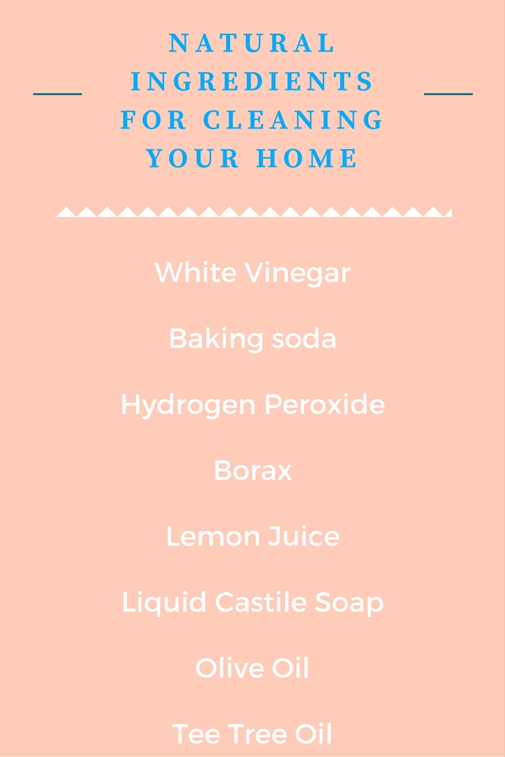 Everything you need to clean the kitchen the non toxic way