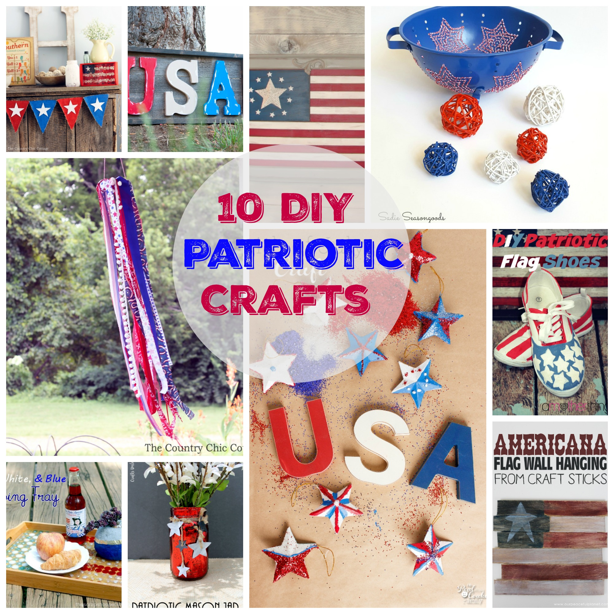10 DIY Patriotic Crafts you can make at home