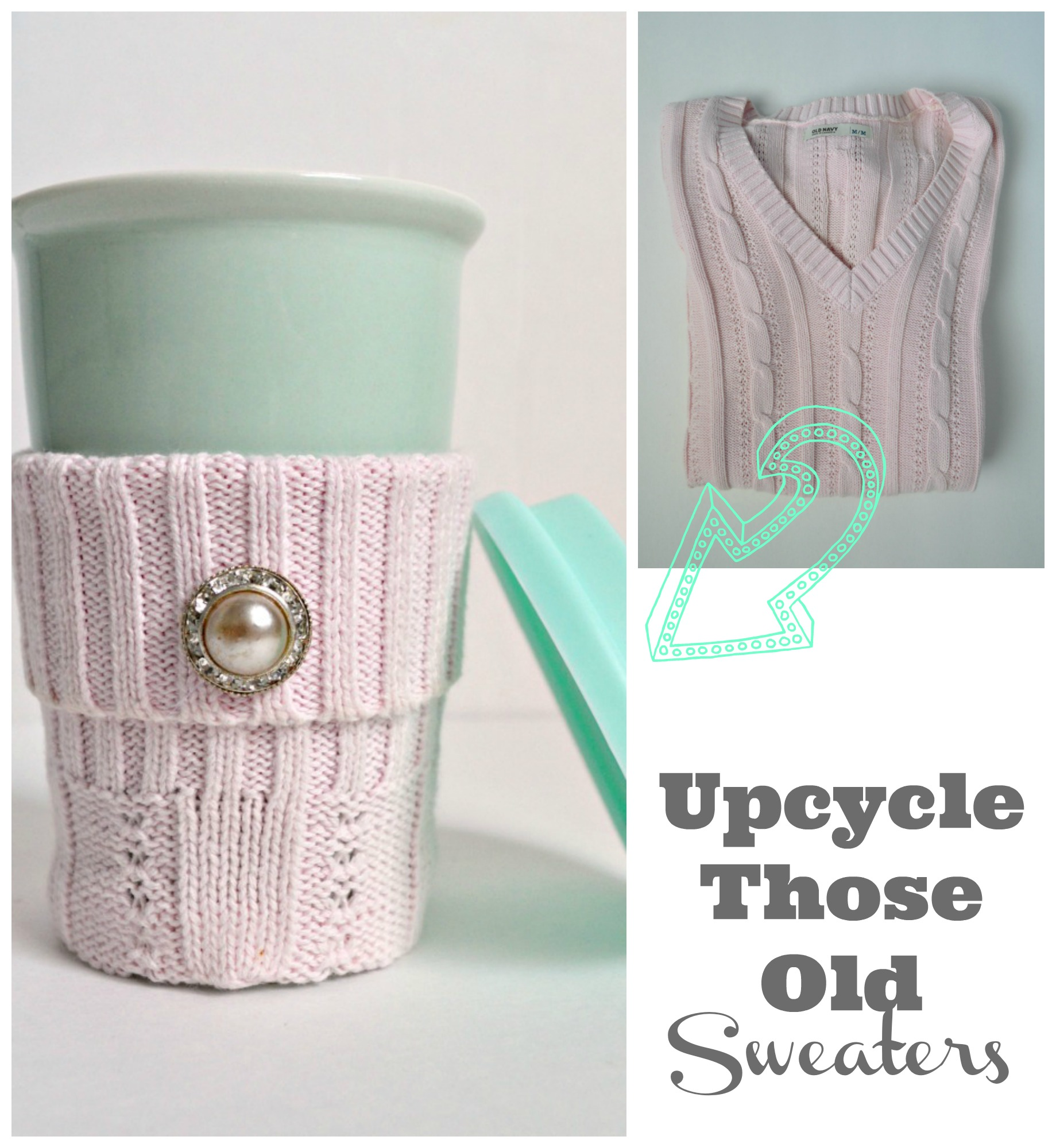 Don't Throw away your old sweaters, upcycle them!