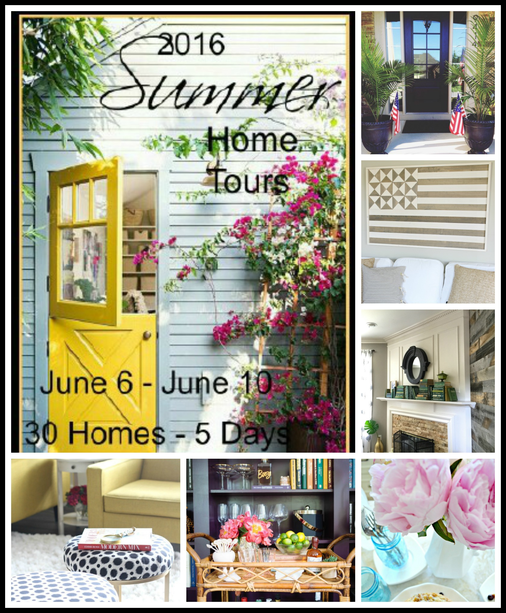 Beautiful Summer Home tours!