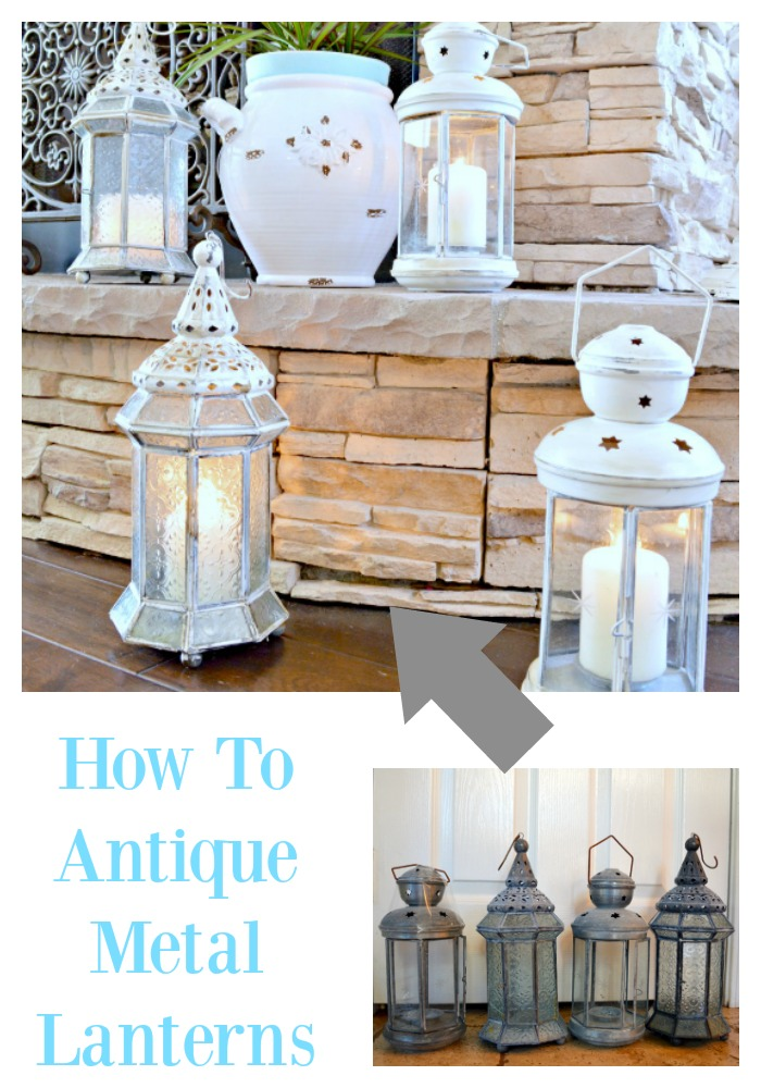 Great tutorial on giving those old lanterns an update