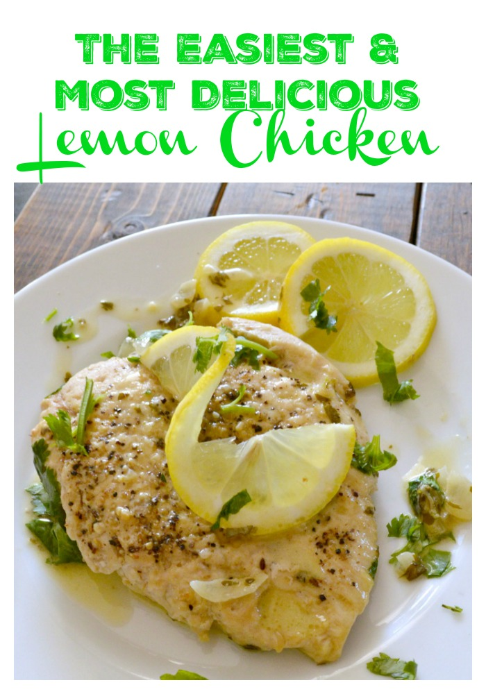 So simple and easy to make with wonderful flavors! Lemon Chicken, just like in the restaurants.