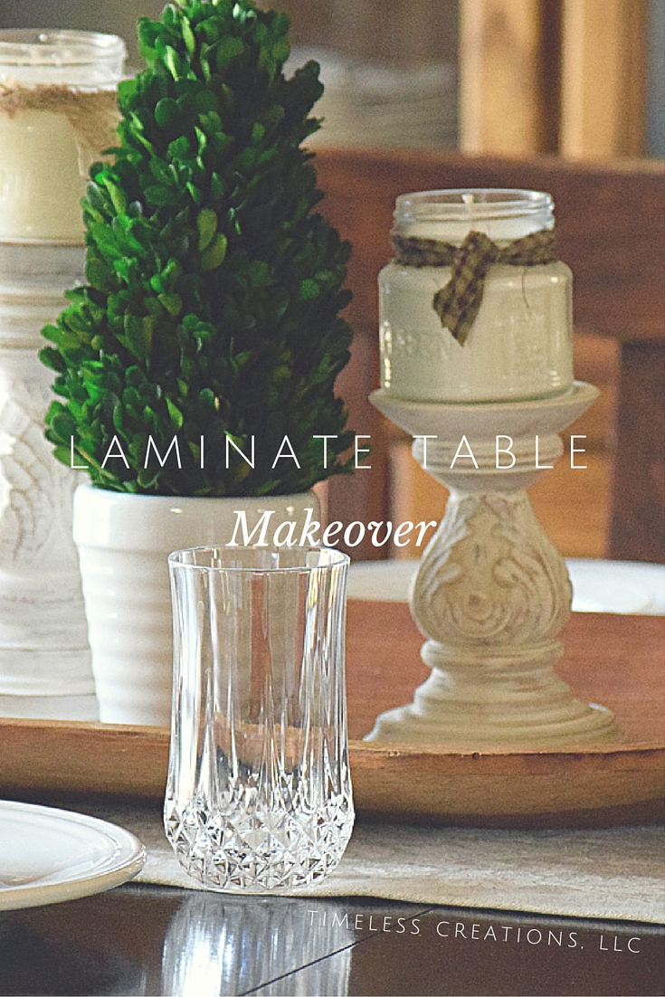 Laminate-Table-Makeover