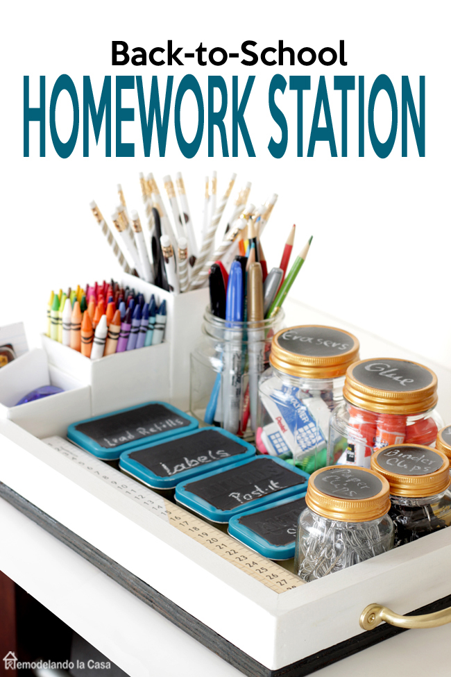 back to school homework station mn