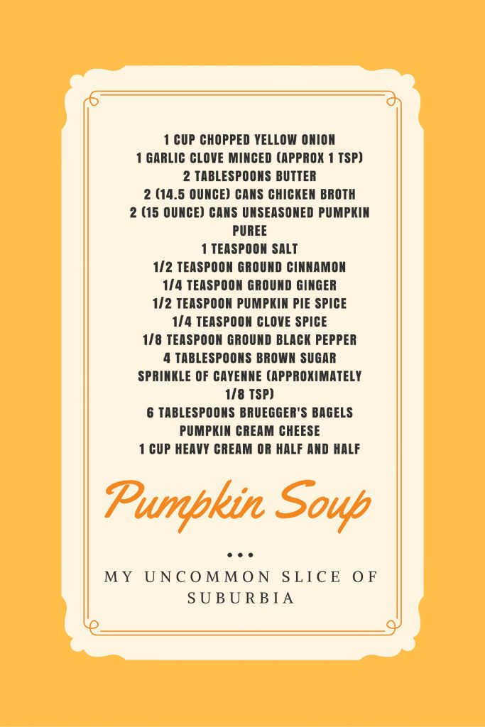The best pumpkin soup, so creamy and delicious!