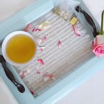 Turn A Picture Frame Into A Tiled Serving Tray
