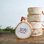 DIY Birch Wood Ornament