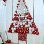 DIY Christmas Tree Ornament Display