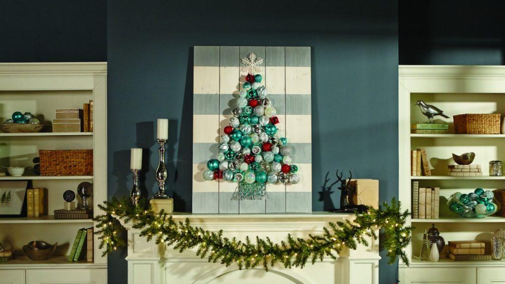You can make this DIY Christmas Ornament Display at The Home Depot's DIY Workshop coming SOON! #sponsored