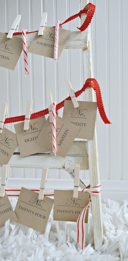 A fun DIY advent calendar to make for the whole family!