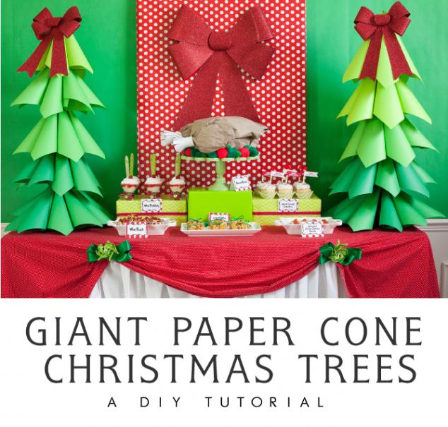 christmas-paper-cone-tree-20-634x605