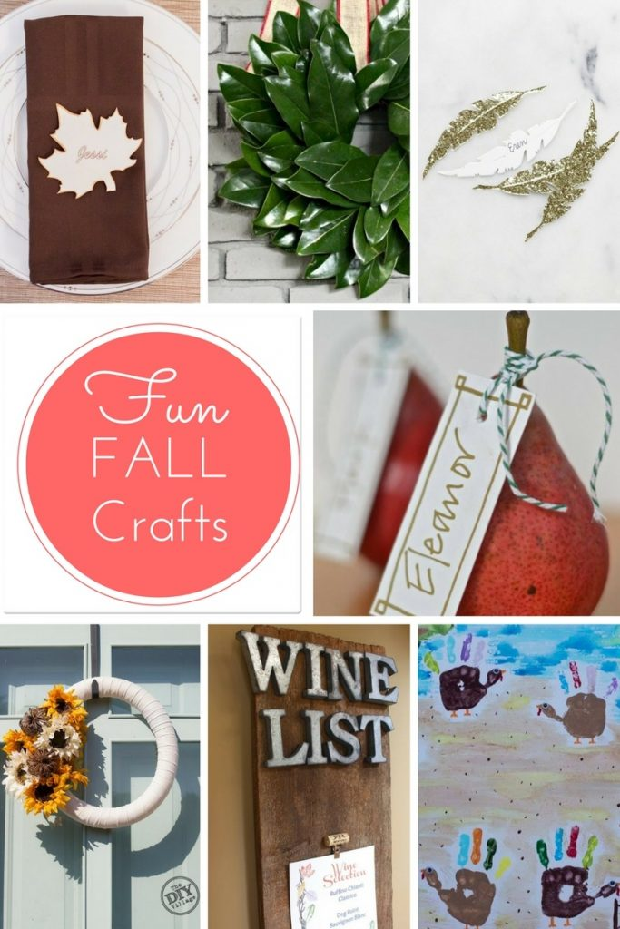 Fall crafts for this Thanksgiving season!