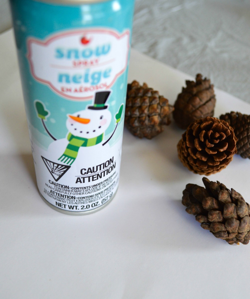 how-to-make-snow-covered-pinecones-and-greenery