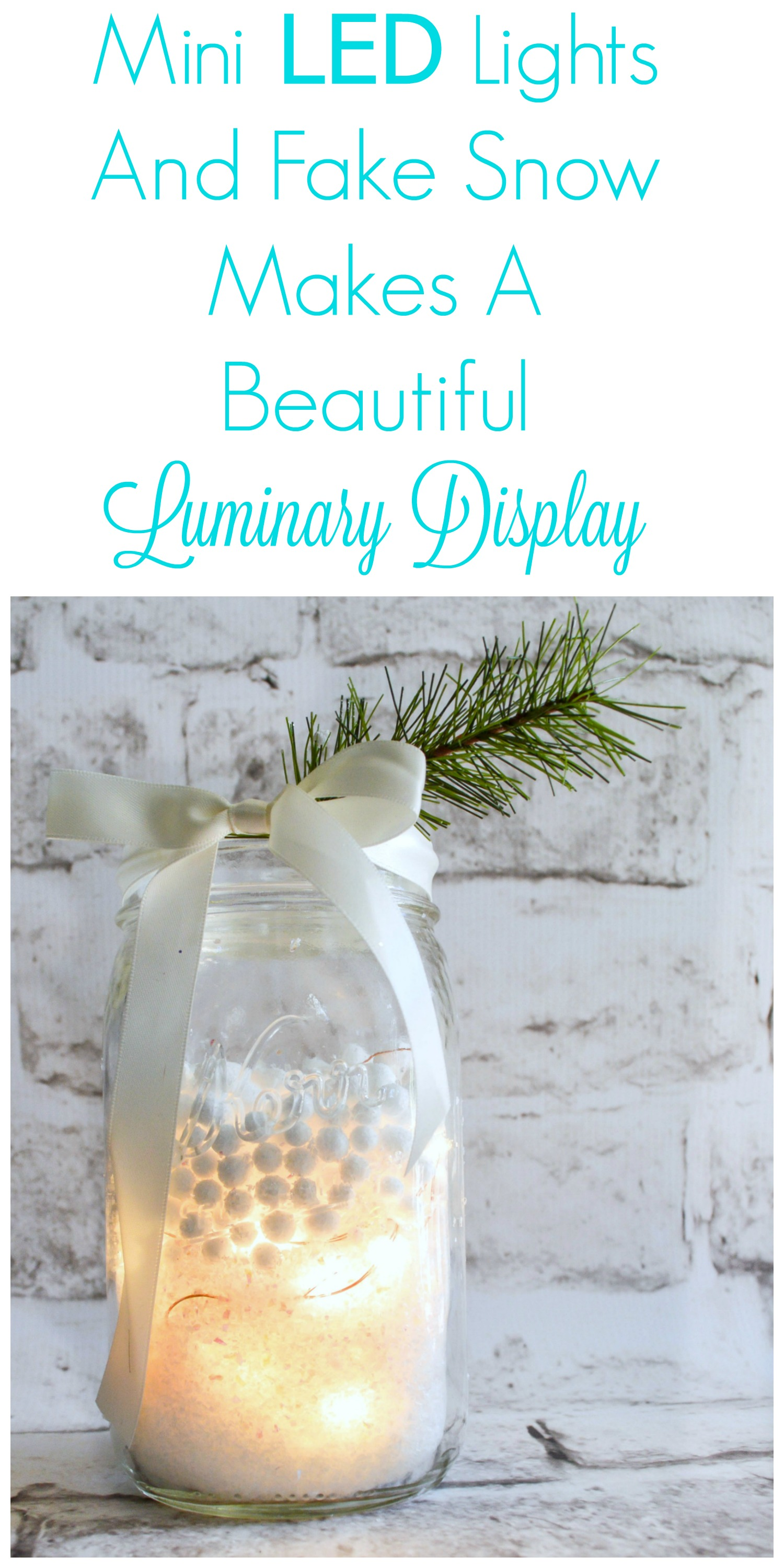 Such a great idea and so pretty inside a mason jar