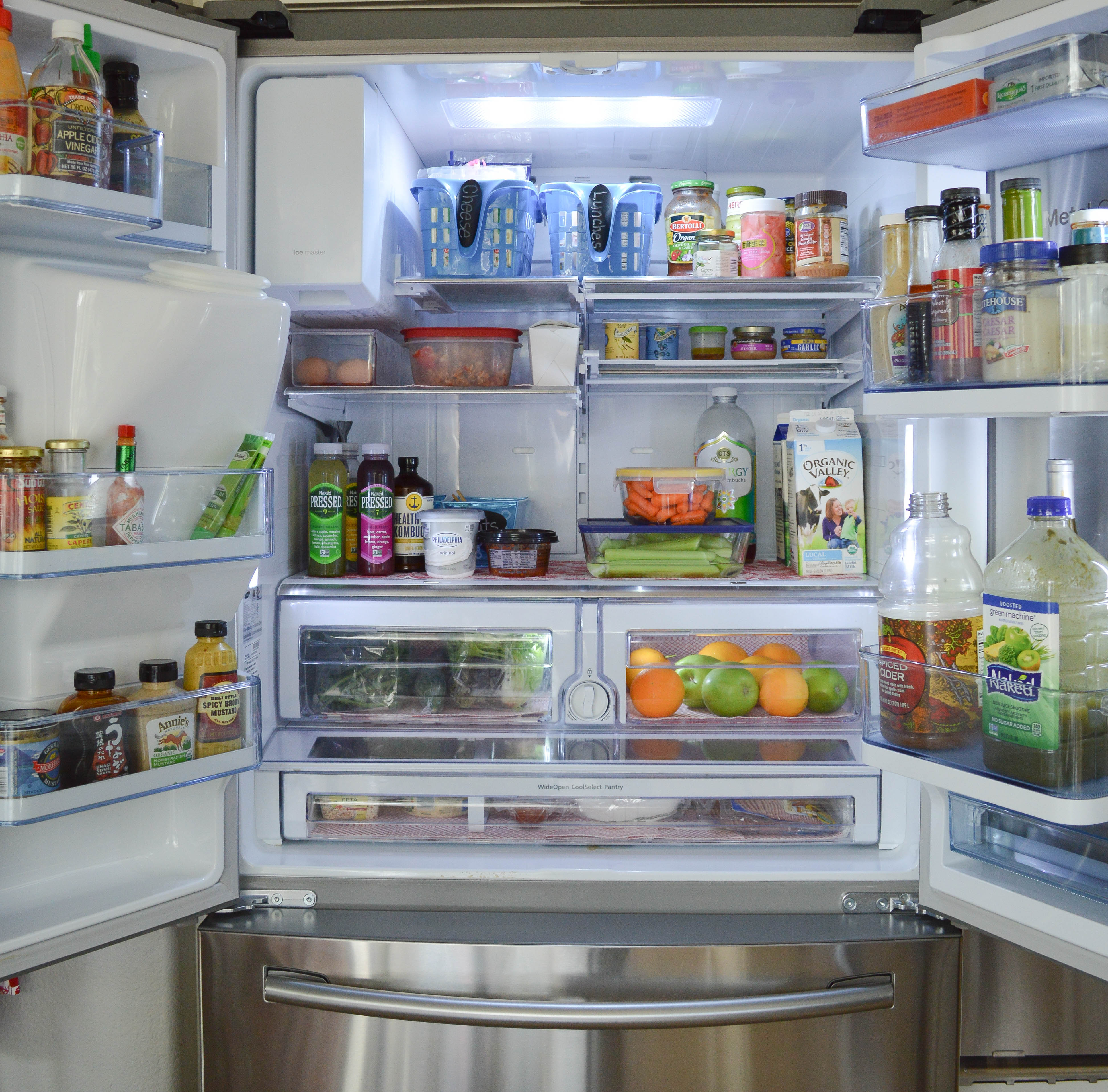Tips for an organized refrigerator