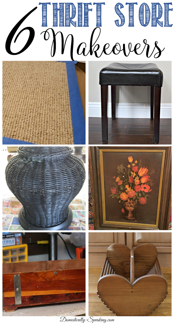 Thrift Store Decor Makeovers