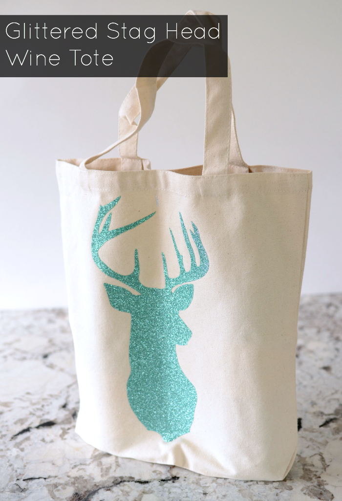 teal-glittered-stag-dual-wine-tote
