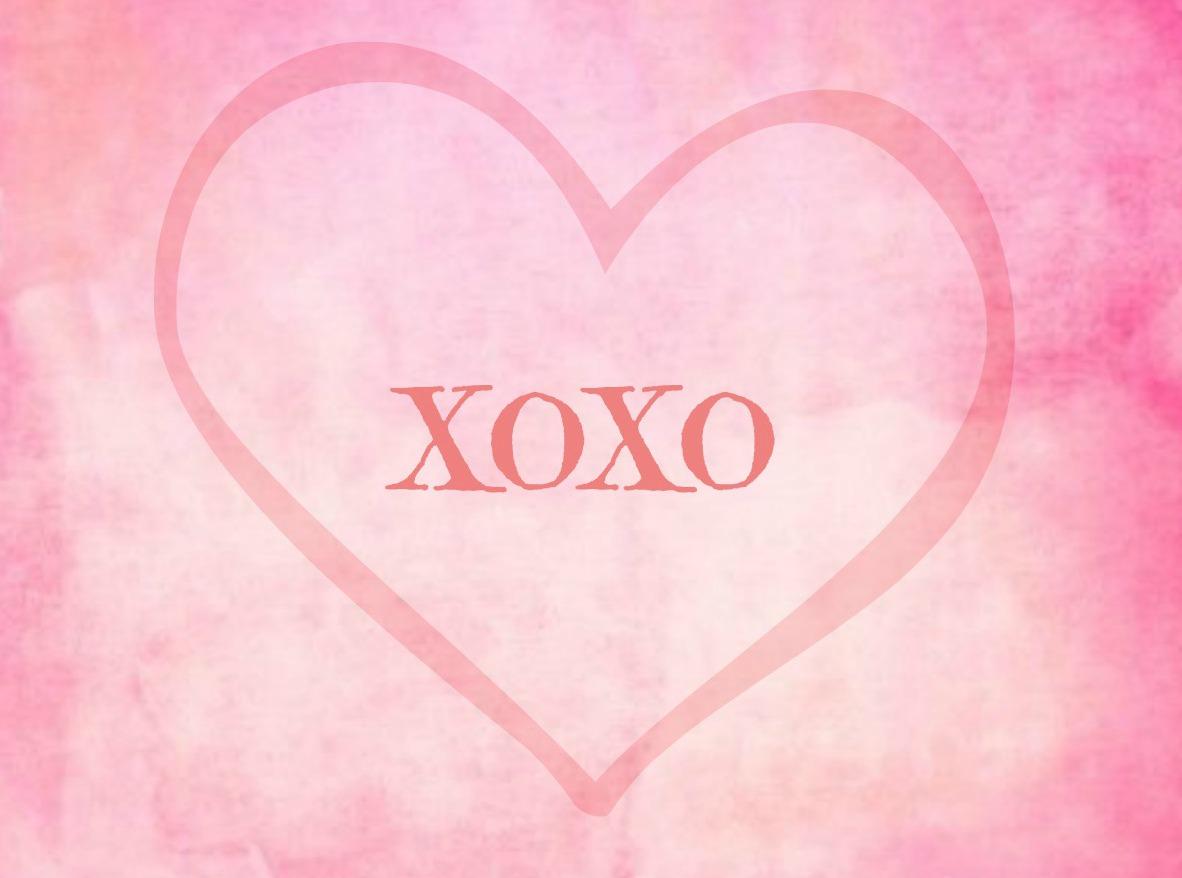 xoxo Free Valentine Printable