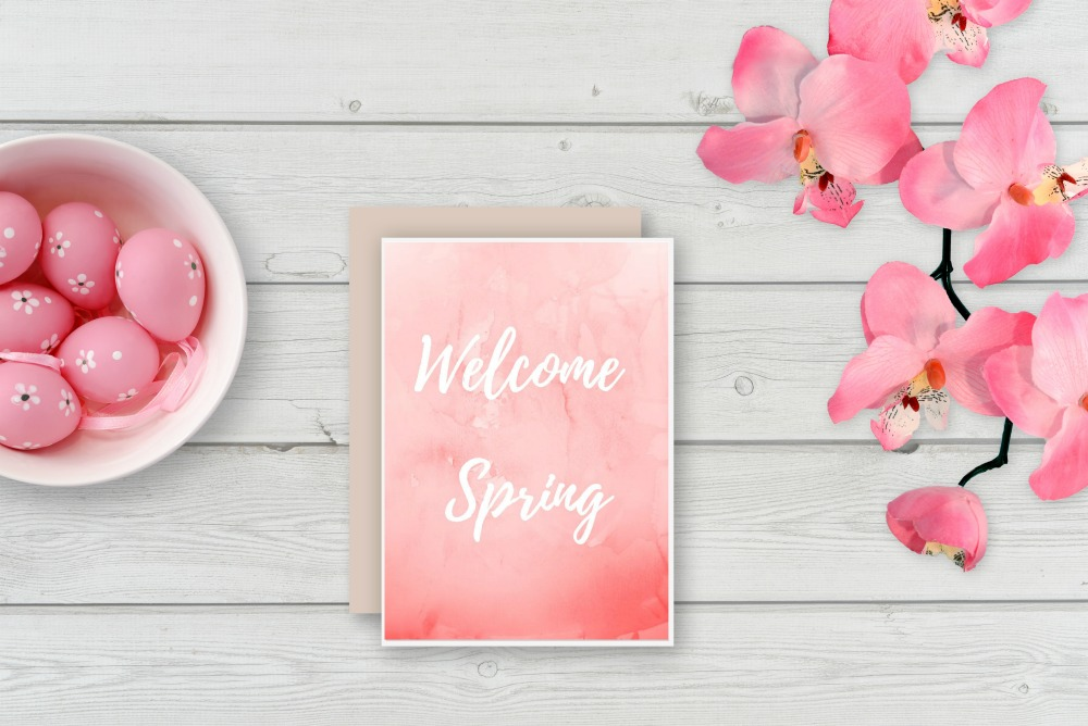 Welcome Spring Free Printable
