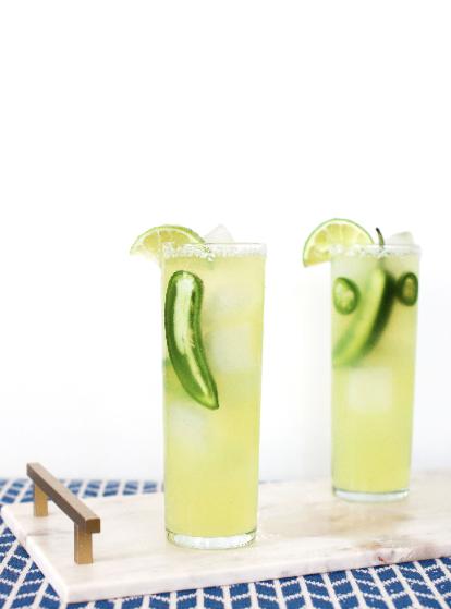 Skinny Margarita, perfect for those watching calories!
